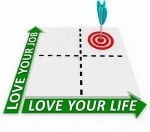 Career and Life Matrix - Arrow and Target